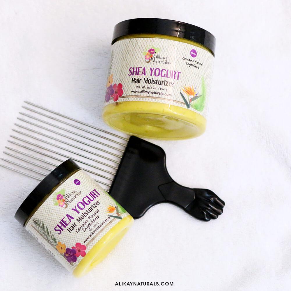 Alikay Natuals Shea Yogurt Fight The Power Hair Pick